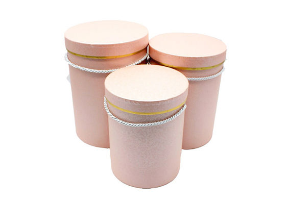 Chine Various Color Round Cardboard Tubes Round Paper Box Large Size For Flower Packaging fournisseur