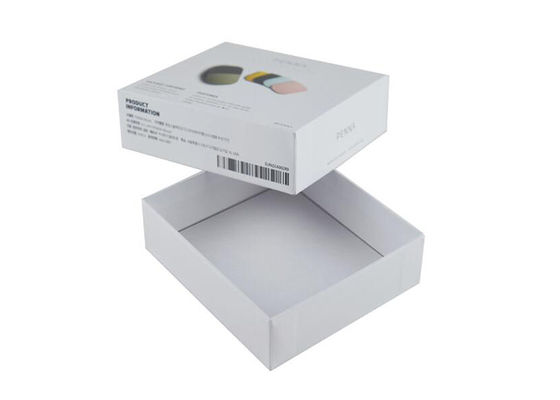 Lightweight Gift Lid And Base Box Rigid Cardboard Material Environmental Protection