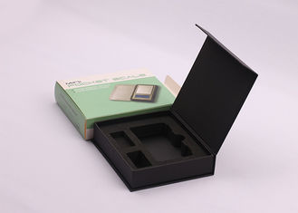 Custom Decorative Magnetic Closure Rigid Gift Boxes Packaging With Logo Stampled